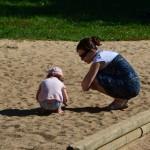 Rodinné výlety, Helčový ubrousky a střih :-)